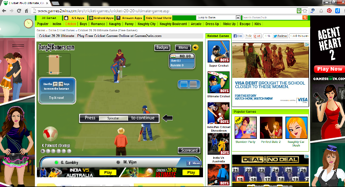 Games2Win-Play Cricket games online