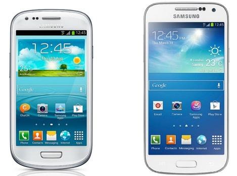 Samsung Galaxy S4 mini vs S4   Specs & Price