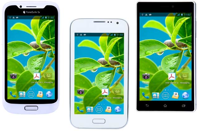 datawind pocketsurfer 5X | 5C+ | 3GS smartphones launched