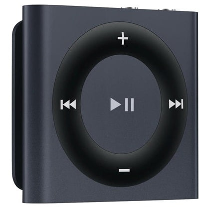 Apple iPod shuffle - Top 5 Best MP3 Players under 5000 Rs in India 2014