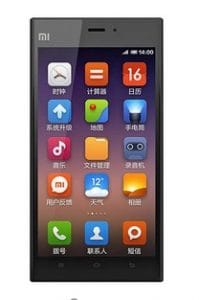 xiaomi mi3 price in India and specifications