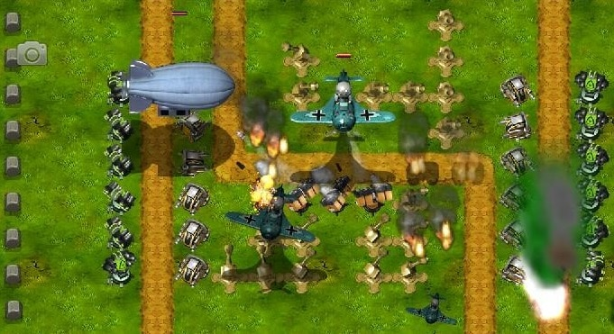 little commander - best rts games for Android phones and tablets