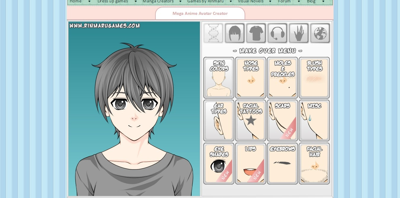 Anime Characters Maker : Best sites to create anime avatar online for free