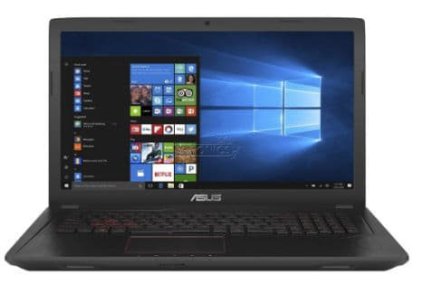 Asus FX553VD - best gaming laptops under 70000 Rs in India