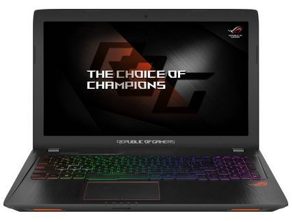 Asus ROG GL553VD gaming laptop