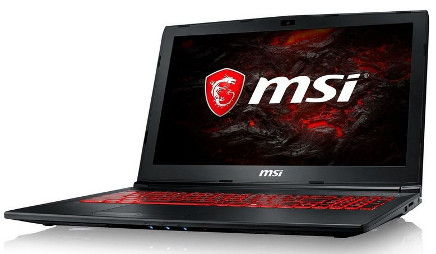 MSI GL62M laptop