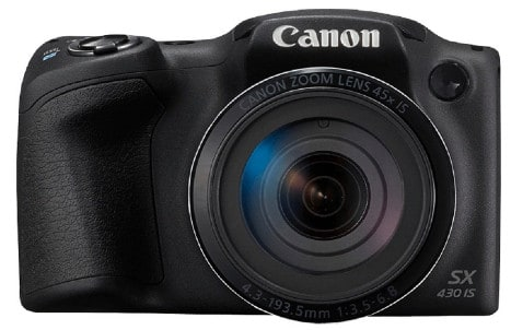 canon sx 430 - best camera under 15000