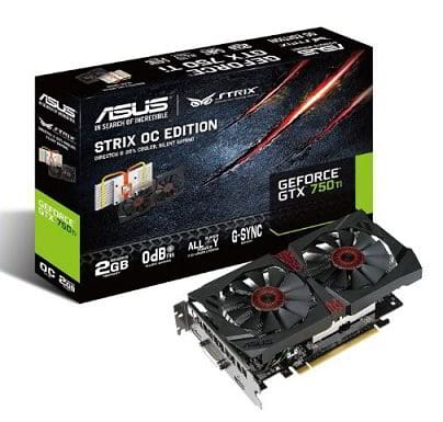 asus geforce gtx-750 ti - graphics card under 15000 RS