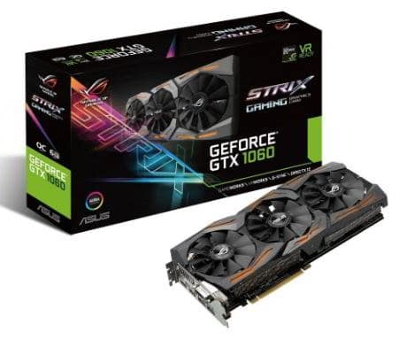asus geforce gtx1060 - best graphics cards under 25000 Rs