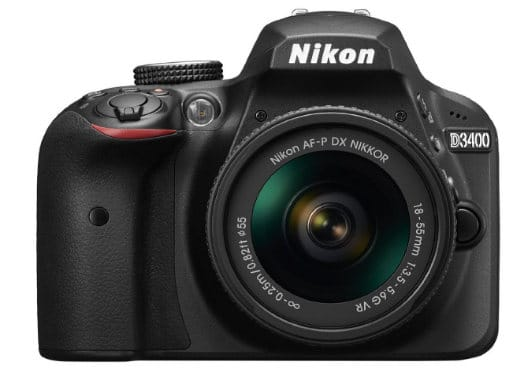 nikon d3400 - best dslr below 30K INR