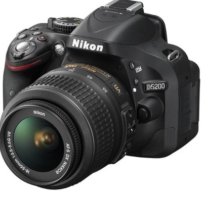 Nikon D5200 - Best Beginner DSLR Cameras under 30000 Rs 500$