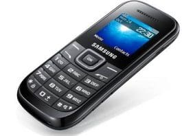 Samsung Guru Gt-E1200 : mobiles around 1000 Rs