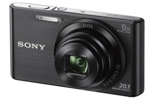 Sony Cyber Shot DSC W830 - Best digital cameras under 10000 Rs in India 2017