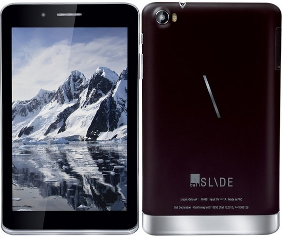 iBall Slide Octa A41 price in India