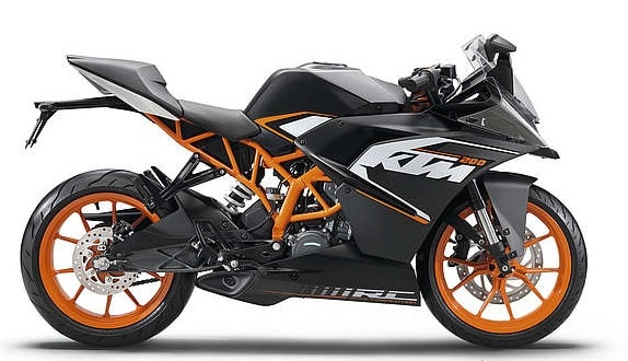KTM RC 200 price in India, specs and mileage