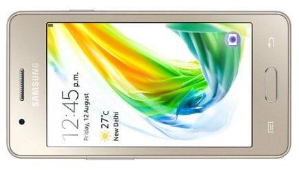 samsung z2 phone