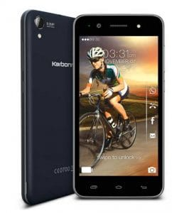 Karbonn MAchone S310 - Android Kit Kat phone under 9000