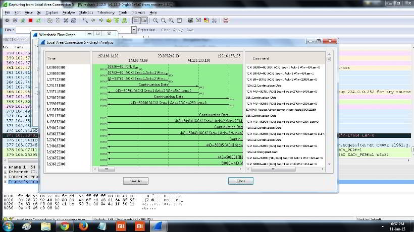 Wireshark WiFi analyzer