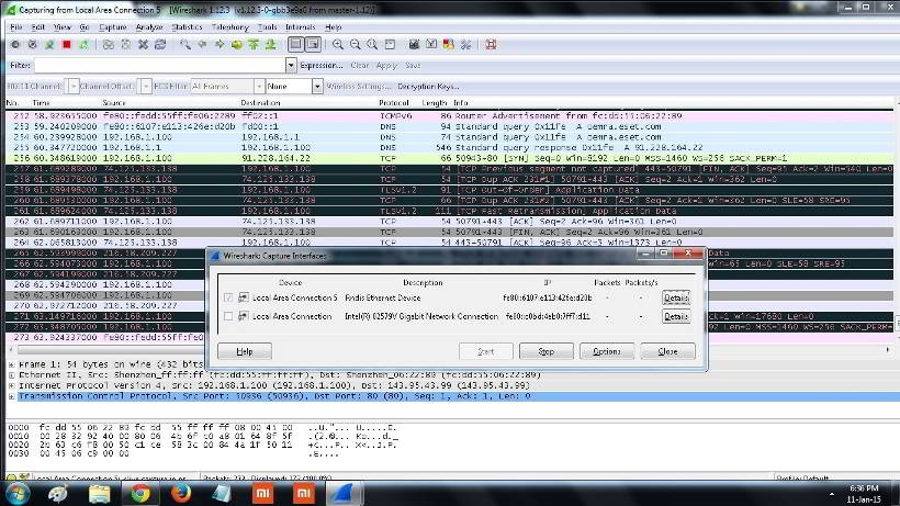 wireshark free download packet sniffer