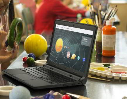 Dell Chromebook 11 dual core laptop for school