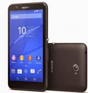 Quad core Sony Xperia E4 phone price