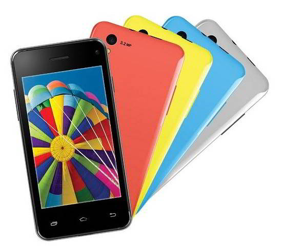 Spice stellar 431 with 3G, 512MB RAM, 4GB for 3300 Rs