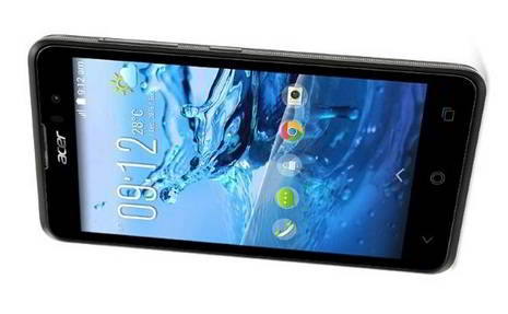 Acer Liquid Z520 quad core with 8MP camera