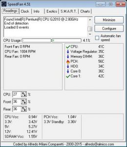 free CPU temperature Monitor software for Windows PC