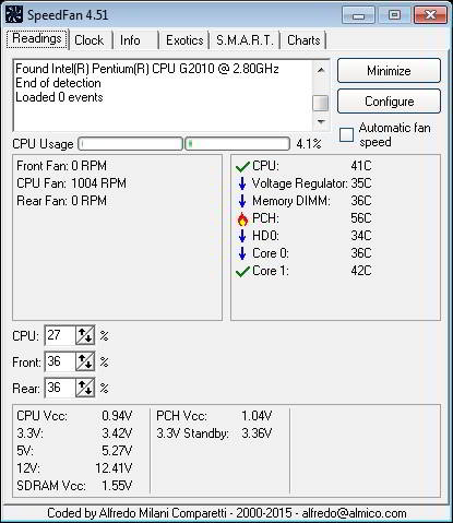 free CPU Monitor software for Windows PC