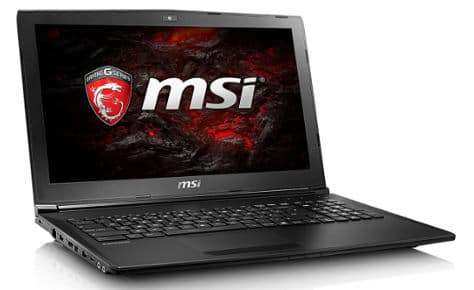 MSI GL72 - MSI gaming laptop under 1000 dollars
