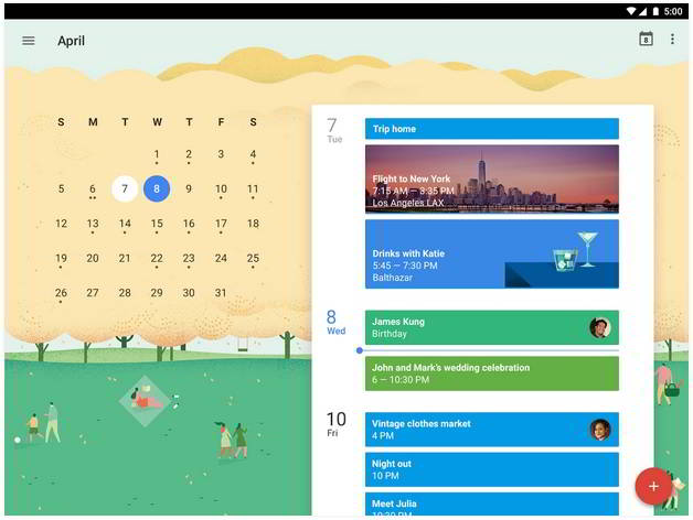 Download Google Calendar for Android free