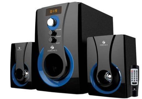zebronics sw2490 - best speakers under 2000 Rs India