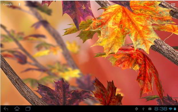 Autumn tree free