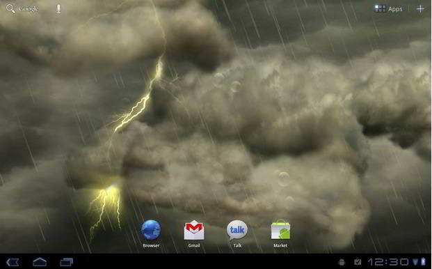 Thunderstorm - best live wallpapers for Android