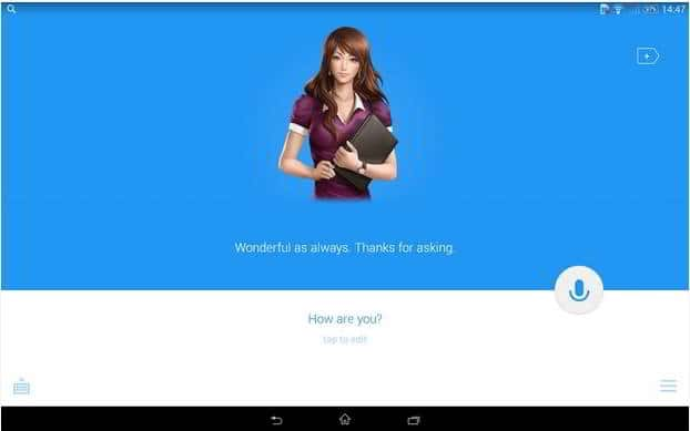 Android personal assistant app