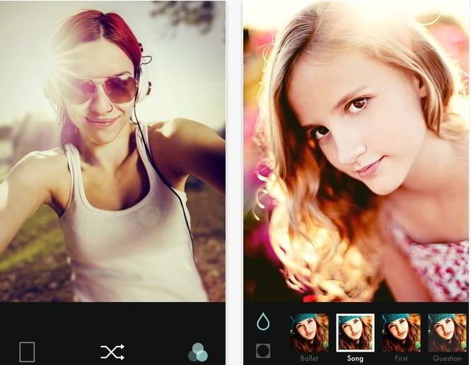 B612 - best selfie apps 2015 for Android and IPhone