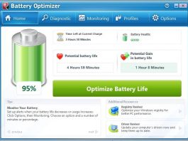 Free Batter life optimizer software windows
