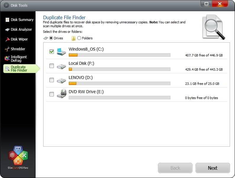 disk utilities