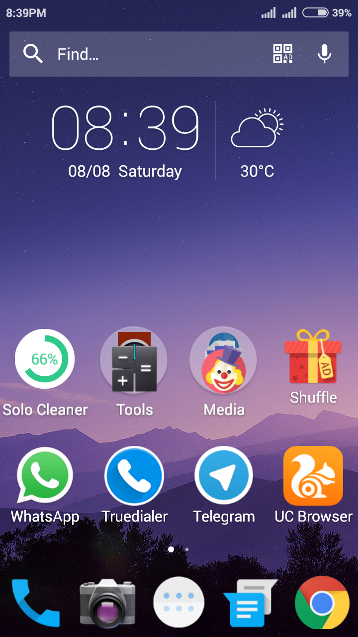 solo launcher review home