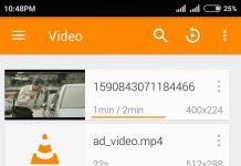 VLC Video list