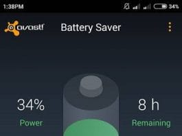 Avast battery saver review 2015 main interface