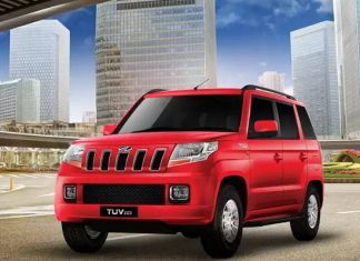 Mahindra TUV300 Price in India