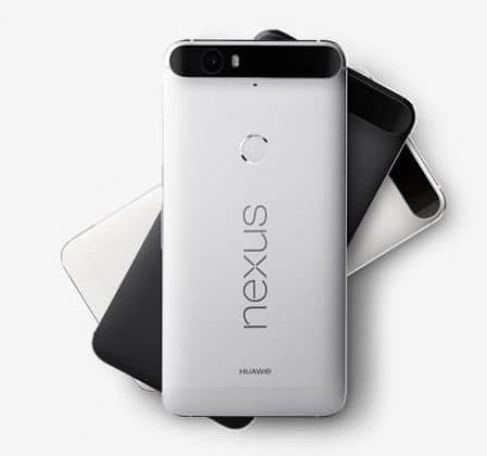 Google Nexus 6P color options