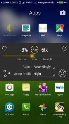 Lux Lite app