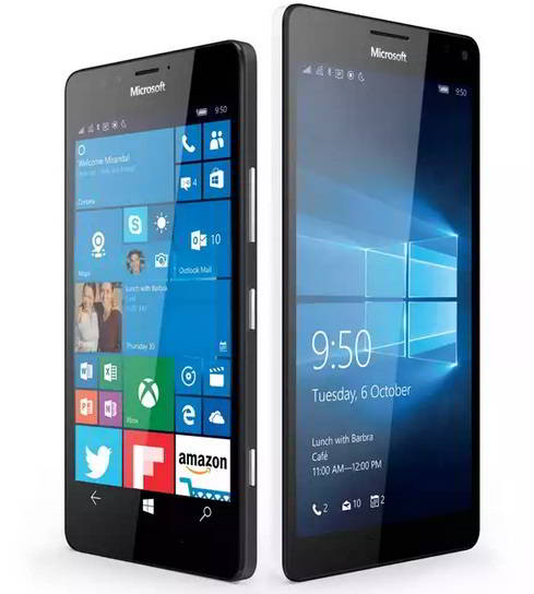 Microsoft Lumia 950 and XL comparision