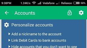 check bank balance Android