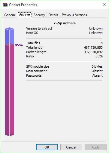 WinRar vs 7Zip vs WinZip