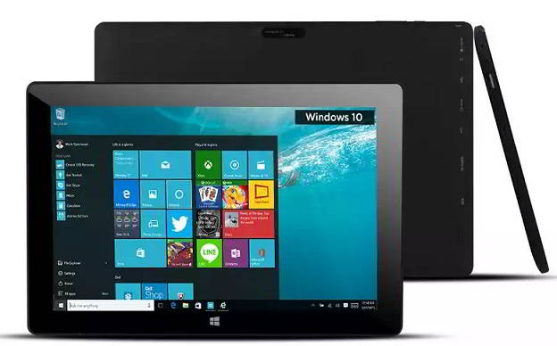DataMini TWG10 : dual boot tablet with Windows 10 and Android Lollipop