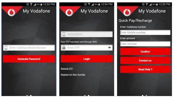 My Vodafone app download