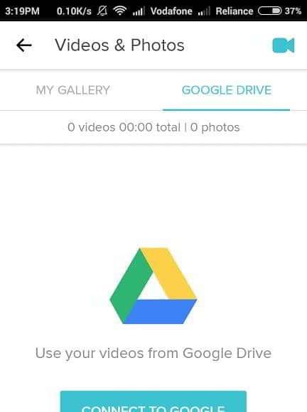 magisto app google drive